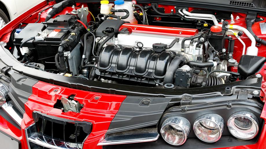 un moteur à essence